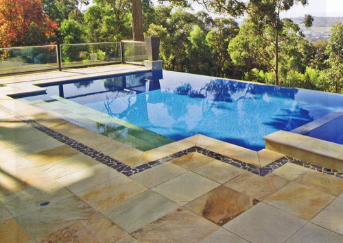 Images Pool Coping Tiles Range Melbourne Sydney Brisbane Completed Swimming Pools Paving