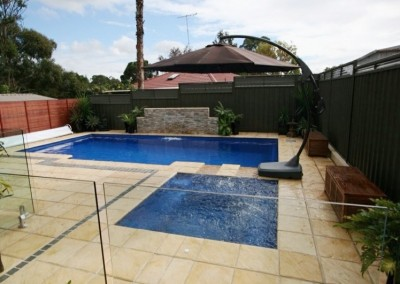 SANDSTONE POOL COPING AND POOL PAVERS HIMALAYAN SANDSTONE