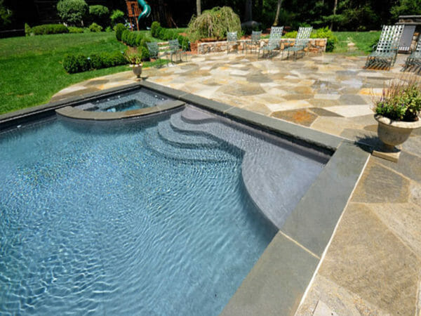 Pool Coping Tiles Harkaway Bluestone