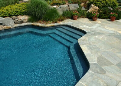 QUARTZITE POOL COPING AND POOL PAVERS