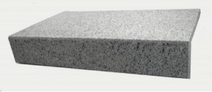 pool coping dove white granite drop face