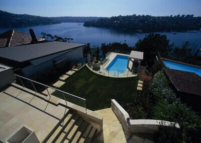 SANDSTONE POOL COPING AND PAVERS