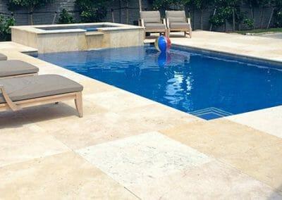 travertine outdoor tiles pool coping
