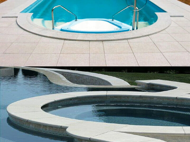 Pool Coping White Diamond Granite