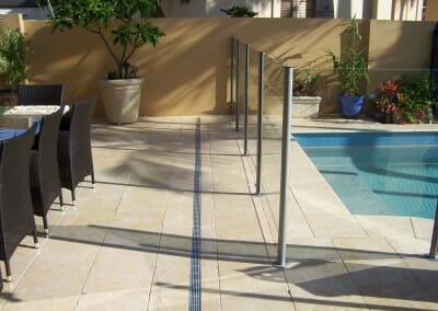 TUSCAN CREAM LIMESTONE POOL PAVERS AND COPING TILES