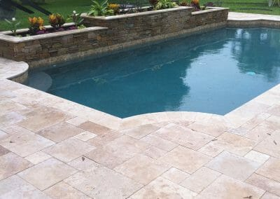 pool coping tiles travertine