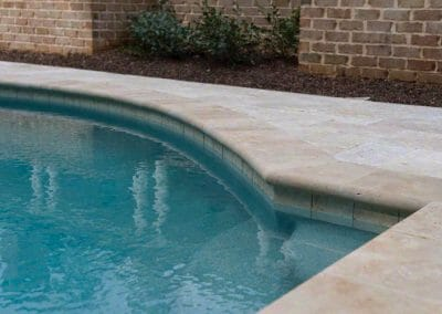 ivory travertine-bullnose-pool-coping-tiles