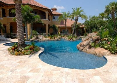 travertine-pool-tiles-ivory-french-pattern