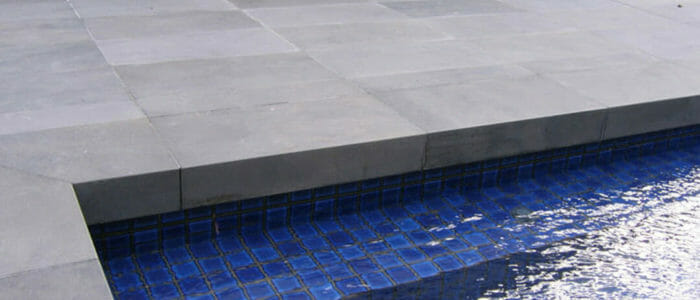 Large Bluestone Rebate Coping