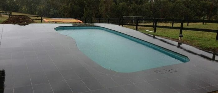 Curved Bluestone Bullnose