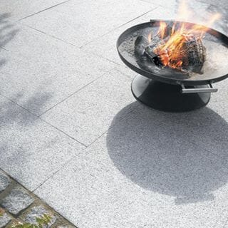 Dove White Granite Outdoors