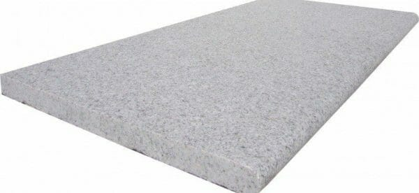 Dove white granite Bullnose Coping Tile