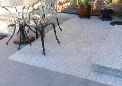 Dove White and Raven Grey Granite Outdoors