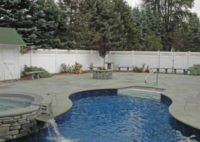 Harkaway Bluestone Bullnosed Pool Coping
