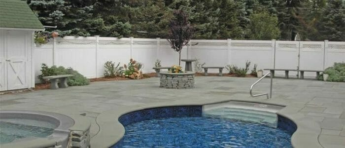 Harkaway Bluestone Pool Coping Bullnosed Tile