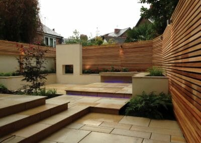 Himalayan Honed Sandstone Pavers outdoors