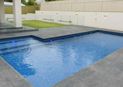 Midnight Flamed Granite Pool Paving Outdoor