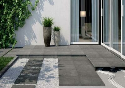 Midnight Outdoor Non Slip Tiles and Pavers