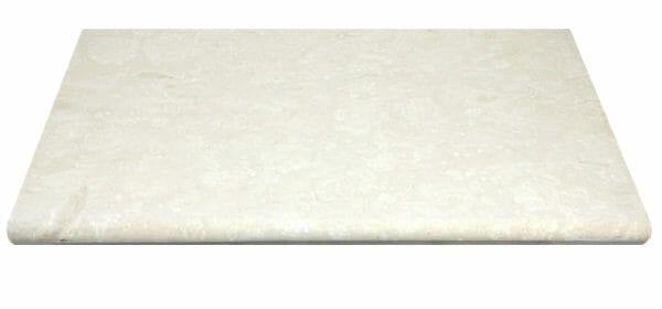 White Limestone Bullnose