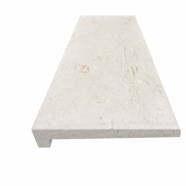 White Limestone Coping
