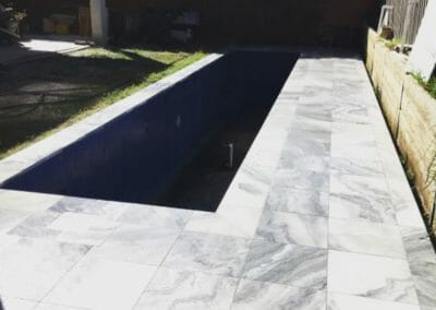 Smokey Quartz Granite Pool Coping