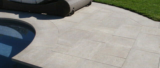 Bluestone Round Pool Coping Aris