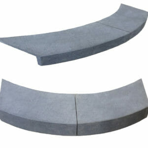 Curved Pool Coping