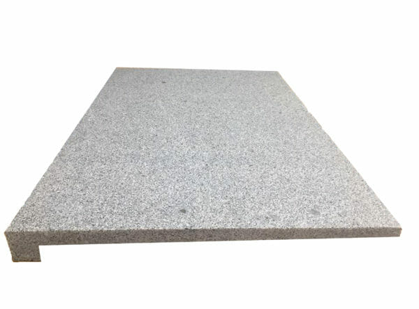 sky blue granite Rebated Pool Coping