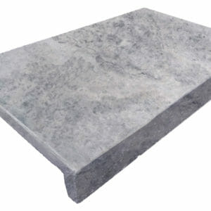 Silver Travertine Coping