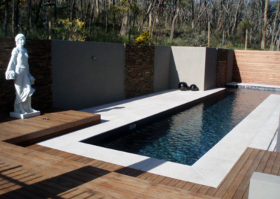 shell White Limestone Pool Pavers