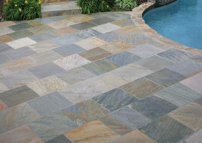 Brazil quartzite pool pavers