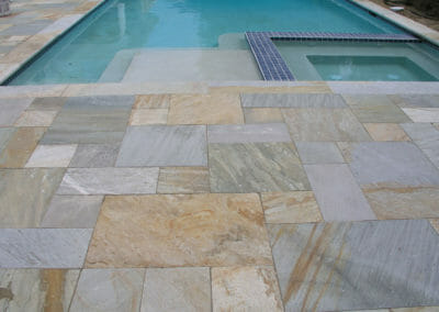 Brazillian Quartzite pool pavers