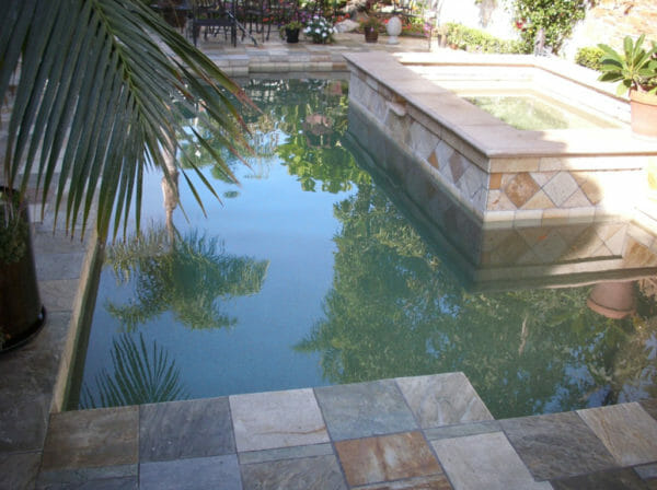 Natural Stone Pool Edge Tiles