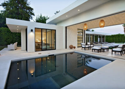 Capri White Limestone Pool