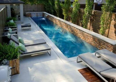 Dove White Granite Pool Coping