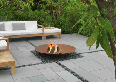 Outdoor Granite Pavers French Pattern