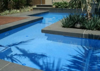 Dark Bluestone Pool Coping