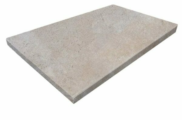 Square Edge Travertine Coping Tiles