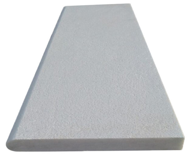 White Granite Bullnose Pool Coping