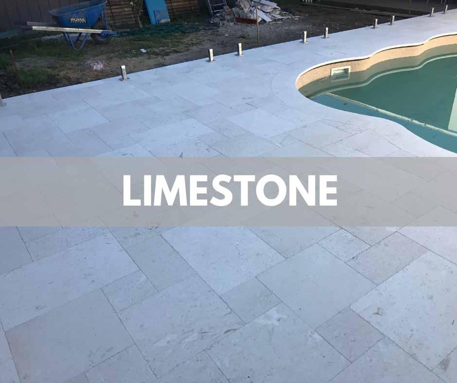Limestone Pool Coping