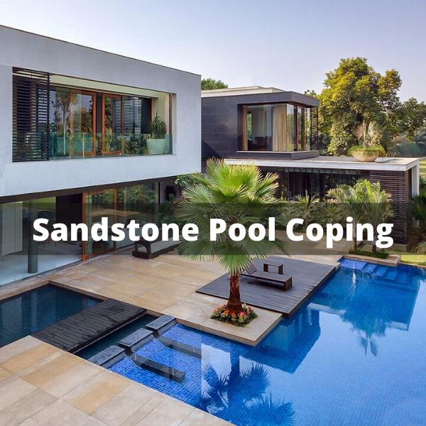 Sandstone Pool Coping