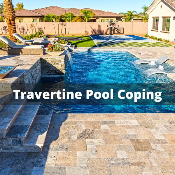 Travertine Pool Coping Tiles